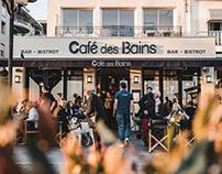 Café des bains / Work