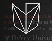 DeVry Digital Campaign 2016