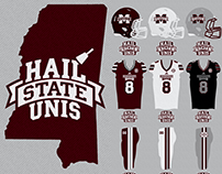 Hail State Unis Pregame Graphics 2016