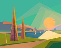 personal project / landscape