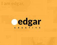 Edgar Creative Personal Website UI Kit