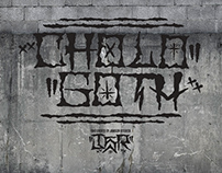 Cholo Goth Hand Drawn Font