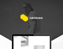 Geodian - Free Portfolio / Resume Website Template
