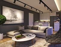 Attic Living room, SG