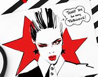 Illustrations for Punkpost