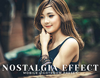 Free Nostalgia Effect Mobile Lightroom Preset