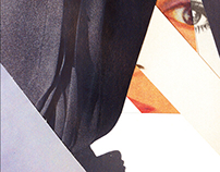 Paper collage - Schizophrenia