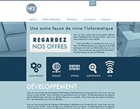 NIS website design
