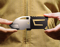 S  P  Λ  R  T  Λ  N  (credit card size knife)