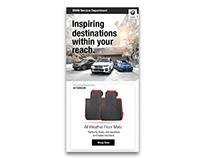 BMW Accessories Email Design