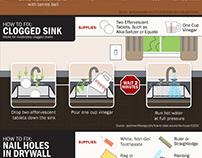 Handyman Home Infographics