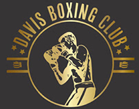 Coach Davis Boxing Club Branding