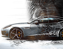 Jaguar  F-type Art