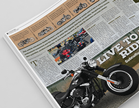 """Editorial - """"Live to Ride, Ride to Live"""""""