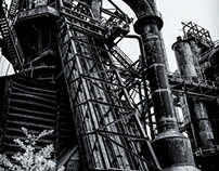 Bethlehem Steel Black & White