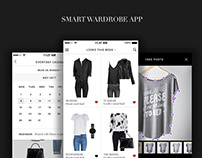 Smart Wardrobe Mobile App Design