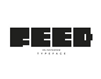 FEED - AN INSTAGRAM TYPEFACE