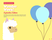 The Majestic Llama Responsive Site- for Zappos