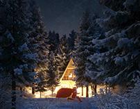 CGI: Christmas night