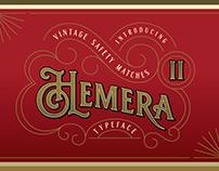 Hemera II - Vintage Decorative Font