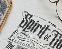 The Spirit of God | Typography