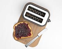 kMix Toaster