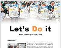 World Toilet Day 2013 Report