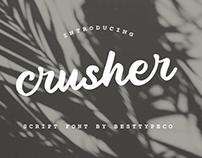 CRUSHER - FREE SCRIPT FONT
