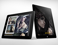 Creative Portfolio Template for Tablets