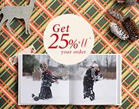 Blurb I Holiday Webpage Ads