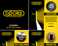 Doors - Real Life Escape Room - Social Media Marketing