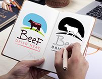 BEEF logo design