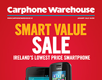 Carphone Warehouse Magazine - Front Covers