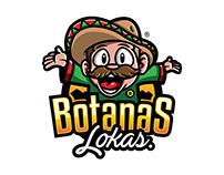 BOTANAS LOKAS LOGO DESIGN