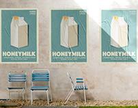 Honeymilk Gig Poster