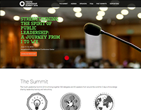 Youth Leadership Summit 2014 - Landing Page