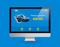 Car&Loan Landing page