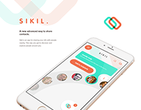Sikil - Contact sharing app