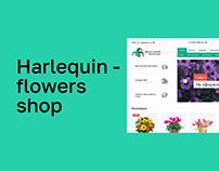 Harlequin - flowers shop