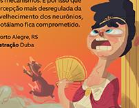 ''Mundo Estranho'' Magazine - Heat and Rome