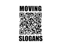 MOVING SLOGANS
