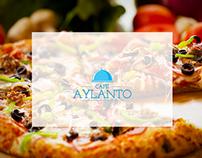 Aylanto cafe - Website Design