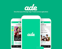 ADE (Issue&Topic contents App)