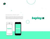 beplay // Branding Sport APP