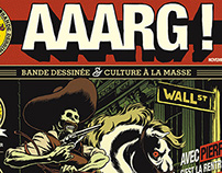 "Cover for the 1st issue of ""Aaarg !"""