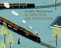 'El detective del ferrocarril' book cover
