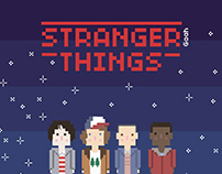 Stranger Things, Pixel Art ♥