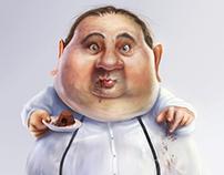 Erick Jacquin - Caricature