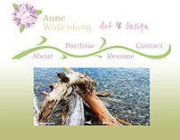 Web Design - jQuery Portfolio Site