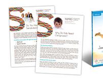 Santé Chiropractic - Information Design